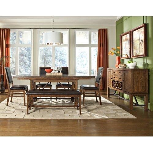 Dining - Santa Clara Backless Dining Bench