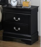 LP Black Nightstand Product Image