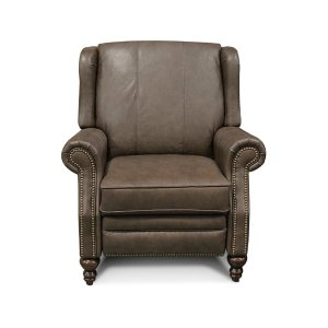 England Furniture Leather Jonah Recliner With Nails 7b31aln