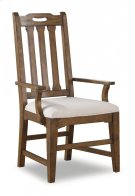Sonora Upholstered Arm Dining Chair Product Image