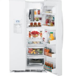 GE Profile™ ENERGY STAR® 25.5 Cu. Ft. Side-by-Side Refrigerator