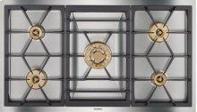 "Vario gas cooktop 400 series VG 491 211 CA Stainless steel Width 36"" Natural gas"
