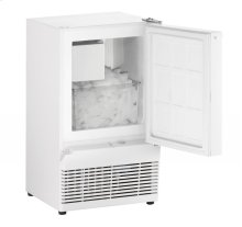"14"" Crescent Ice Maker White Solid Field Reversible"