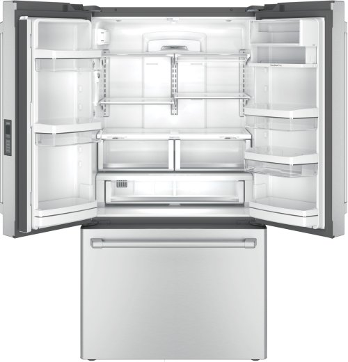 Clearance Model - One of a Kind - GE Cafe™ Series ENERGY STAR® 23.1 Cu. Ft. Counter-Depth French-Door Refrigerator