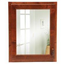 Inset Medicine Cabinet - Cinnamon - Hinge Left