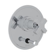 Polished Chrome Campo Pressure Balance Trim With Diverter with Cross Handle