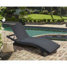 Cabana Outdoor Adjustable Wicker Chaise Lounge Chair Product Image