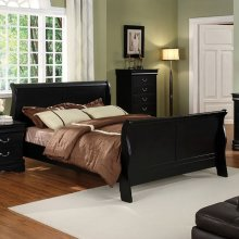 Full-Size Louis Philippe Ii Bed
