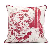 Homestead Christmas Vintage Santa Pillow