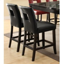 Newbridge Causal Black Counter-height Chair