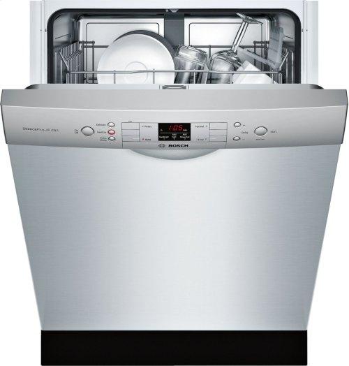"ADA 24"" 300 Series Recessed Hndl, 4/4 Cycles, 46 dBA, RckMatic, 14 Pl Stgs - SS"