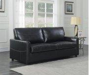 Emerald Home Slumber Queen Sleeper W/gel Foam Mattress Black U3215-50-16 Product Image