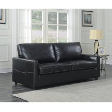 Emerald Home Slumber Queen Sleeper W/gel Foam Mattress Black U3215-50-16