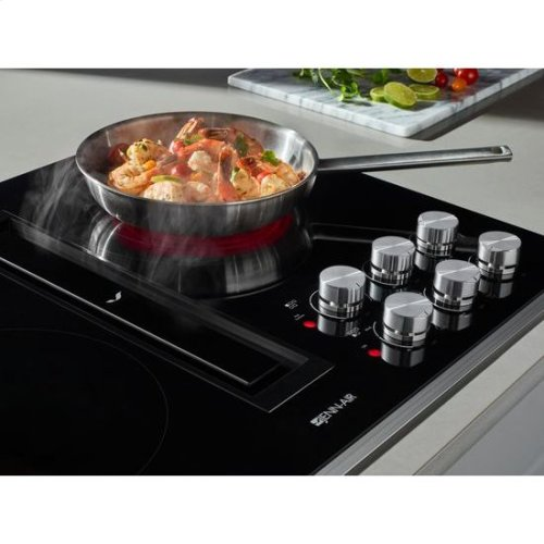 """Jenn-Air® Euro-Style 36"""" JX3™ Electric Downdraft Cooktop - Stainless Steel"""