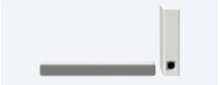 2.1ch Compact Soundbar with Bluetooth® technology