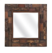 Lloyd Wood Slat Mirror Product Image
