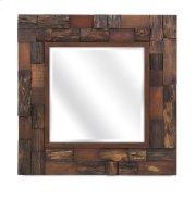Lloyd Wood Slat Mirror Product Image