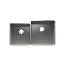 "UrbanEdge® 003641 - undermount stainless steel Kitchen sink , 15"" × 16"" × 8""  18"" × 18"" × 10"""