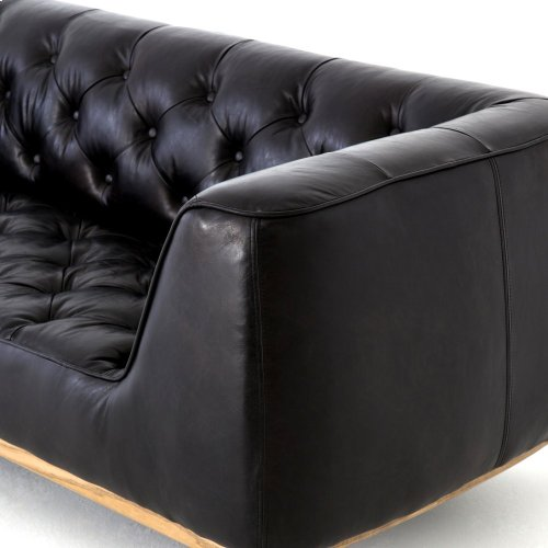 "Rider Black Cover Remington 90"" Sofa"