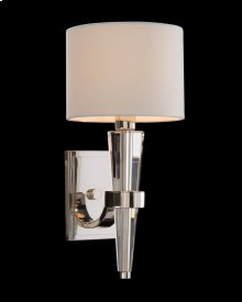 Crystal Cone Sconce