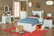 Twin Bed with Three Storage Boxes Product Image