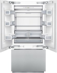 36 inch Custom Panel Built-In French Door Bottom-Freezer T36IT800NP