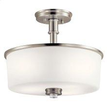 Joelson Collection Joelson 3 light Semi Flush NI