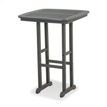 "Slate Grey Nautical 31"" Bar Table"