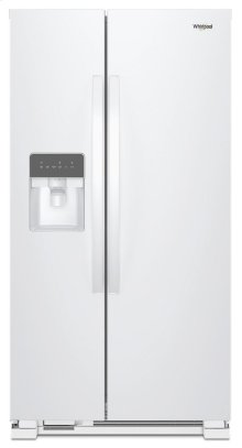 36-inch Wide Side-by-Side Refrigerator - 24 cu. ft.
