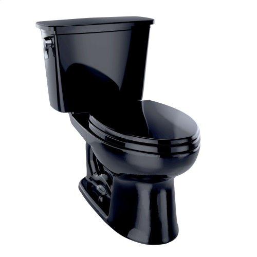 Eco Drake® Transitional Two-Piece Toilet, 1.28 GPF, ADA Compliant, Elongated Bowl - Ebony