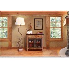 2 Drawers, 2 Mesh Doors - Multicolor nish Server
