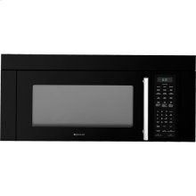 "36"" Over-the-Range Microwave Oven, Black Floating Glass w/Handle"