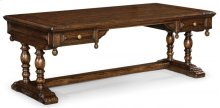 Elizabethan Dark Oak Desk (Large)