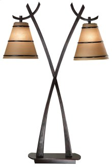 Wright - 2 Light Table Lamp