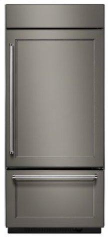 "20.9 Cu. Ft. 36"" Width Built-In Panel Ready Bottom Mount Refrigerator with Platinum Interior Design"