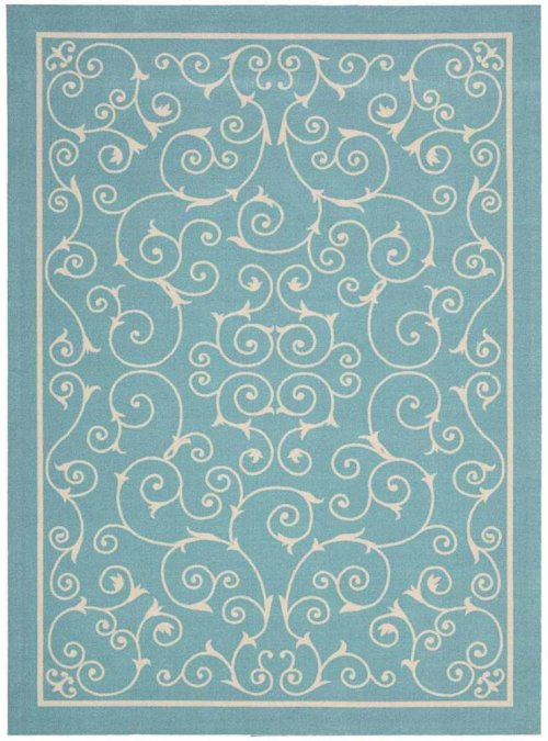 Home & Garden Rs019 Ltb Rectangle Rug 5'3'' X 7'5''
