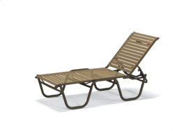 Four-Position Lay-flat Stacking Armless Chaise