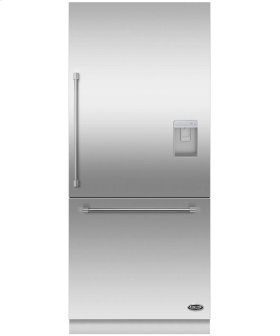 "DCS Activesmart Refrigerator 36"" Integrated Bottom Freezer With Ice & Water - 80"" / 84"" Tall"
