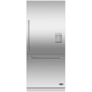"DCSDCS Activesmart Refrigerator 36"" Integrated Bottom Freezer With Ice & Water - 80"" / 84"" Tall"