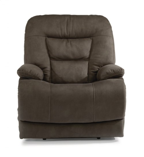 Stanford Fabric Power Recliner with Power Headrest