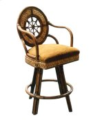24'' Bar Stool, Available in Abaca or Seagrass Finish. Product Image