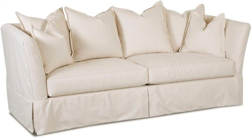 Two Cushion Sofas, Slipcover