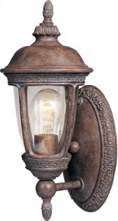 Knob Hill VX 1-Light Outdoor Wall Lantern