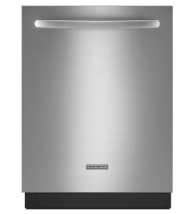 KitchenAid® 24-Inch 5-Cycle/6-Option Dishwasher, Architect® Series II - Stainless Steel