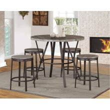 7877-7777 Natural 5PC Counter Height Set