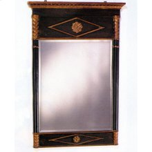 "27""W X 40""H Empire Beveled Mirror"