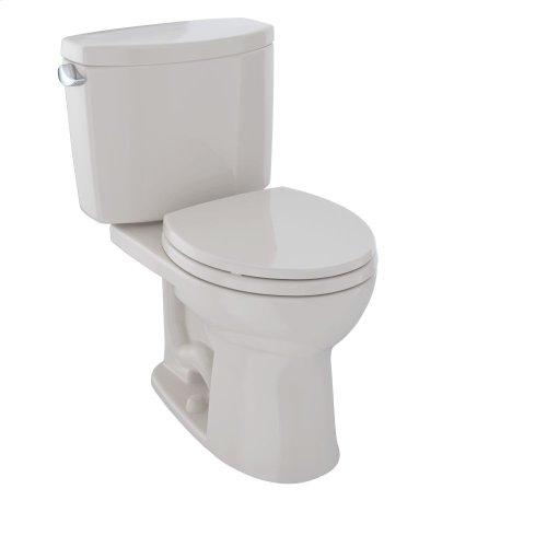 Drake® II Two-Piece Toilet, Round Bowl, 1.28 GPF - Sedona Beige