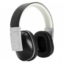 Stylish over-ear headphones. in Black and Silver