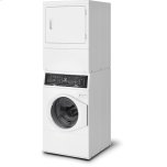 Speed Queen White Stacked Washer/dryer: Sf7 (Electric)