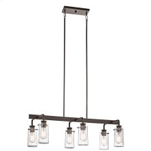 Braelyn Collection Braelyn 6 Light Linear Chandelier - OZ